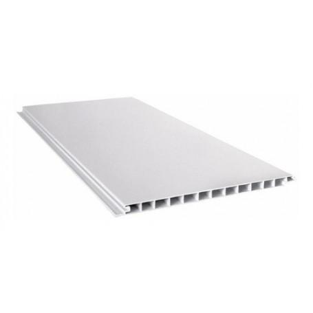 Placa Blanca Cielorraso Pvc 3 Metros X 200mm X 10mm