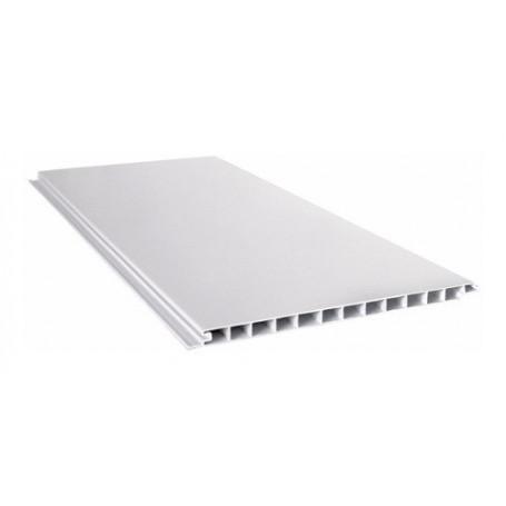 Placa Blanca Cielorraso Pvc 4 Metros X 200mm X 10mm