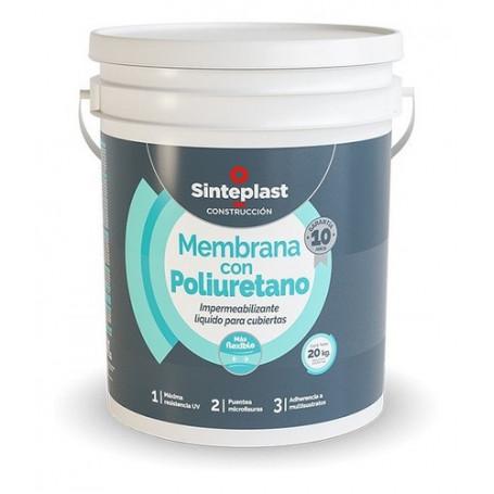 Membrana Con Poliuretano 20kgs Sinteplast